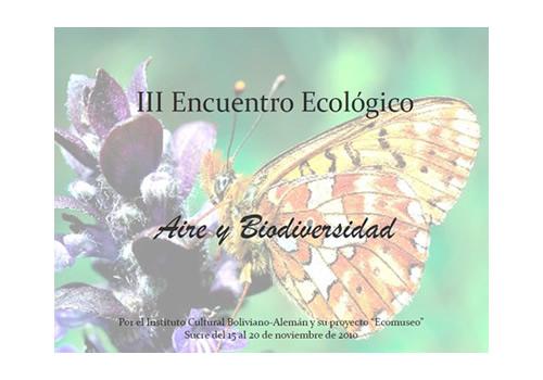 III Encuentro Ecológico, Aire y Biodiversidad jpg